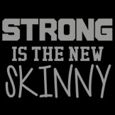 Funny T Shirts Cheap Prices Wholesale Suppliers - a8406c_1 strong is the new skinny