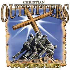 Wholesale T Shirts Hats, Military Tee Shirts, A8603D - Christian Outfitters-Soldiers