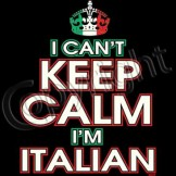 Wholesale Printed T Shirts Suppliers Funny Clothing - a9346a keep calm italian