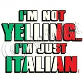 Funny T Shirts Cheap Prices Wholesale Suppliers - a9649b yelling italian