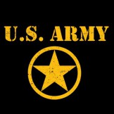 US ARMY STAR Wholesale Military T Shirts Custom Printed Cheap Suppliers Bulk - a9931f