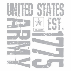 Wholesale T Shirts Hats, Military Tee Shirts, Army Est 1775 - a12793b