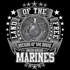 Wholesale Military T Shirts Marines - 18649d1-1
