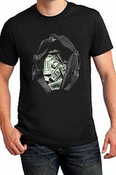 Wholesale Apparel - Men's Graphic T Shirts - Bag Full Of Money Printed Mans Top