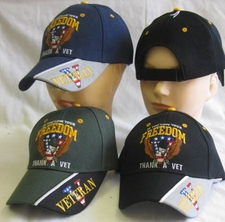 Wholesale Hats Military Bulk Fashion - CAP606 Love Freedom