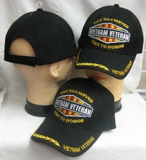 Wholesale Hats Military Bulk Fashion - CAP607C Vietnam Vet Time to Honor Cap