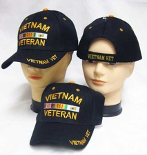 Wholesale Embroidered Military Baseball Caps - Vietnam Veteran Hats Military Baseball Caps - CAP607A