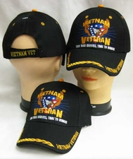 Wholesale Hats, Military Caps - Veteran V Eagle - CAP607D