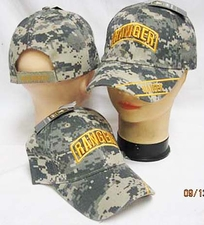 Wholesale Hats, Military Caps - Ranger Cap Camo Hats Military Baseball Caps - CAP788C