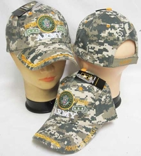Military Caps Wholesale - CAP601HC United States ARMY Emblem Cap Camo