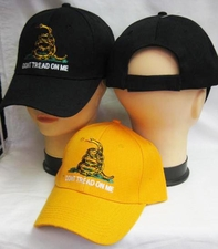 Wholesale Custom Products - Us Military T Shirts Hats - CAP982 Don't Tread On Me Cap