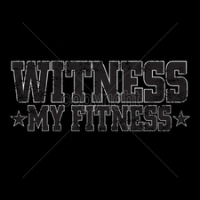 Custom Gildan T Shirts Printed Funny, Wholesale T Shirts - 11x4-witness-my-fitness