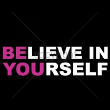 Custom Gildan T Shirts Printed Funny, Wholesale T Shirts - 16981-11x3-believe-yourself-neon-puff