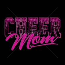 Custom Gildan T Shirts Printed Funny, Wholesale T Shirts - 16987-11x6-cheer-mom-neon-puff