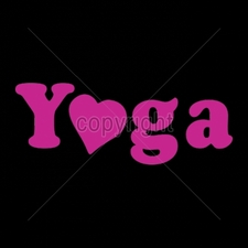 Custom Gildan T Shirts Printed Funny, Wholesale T Shirts - 9x4-yoga-heart-neon