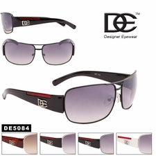 DE� Wholesale Designer Aviators - Style #DE5084 (Assorted Colors) (12