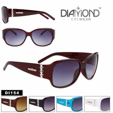 Diamond� Eyewear Bulk Rhinestone Sunglasses - Style #DI154 (Assorted C