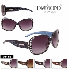 Diamond� Eyewear Bulk Rhinestone Sunglasses - Style #DI156 (Assorted C