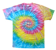 Wholesale - Tie Dye T Shirts - Distributors Tie Dye Shirts - SATURN