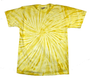 Wholesale - Tie Dye T Shirts - Distributors Tie Dye Shirts - SPIDER DANDELION