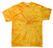 Wholesale - Tie Dye T Shirts - Distributors Tie Dye Shirts - SPIDER GOLD