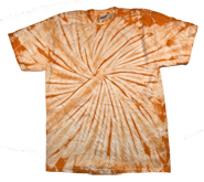 Wholesale - Tie Dye T Shirts - Distributors Tie Dye Shirts - SPIDER MANDARIN