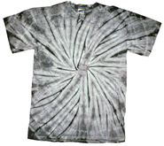 Wholesale - Tie Dye T Shirts - Distributors Tie Dye Shirts - SPIDER SILVER