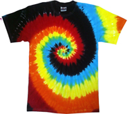 Tie Dye T Shirts Wholesale - ECLIPSE