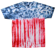 Wholesale - Tie Dye T Shirts - FLAG