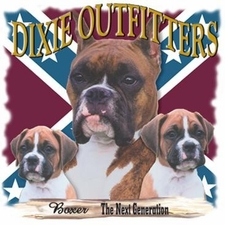 Wholesale Clothing Apparel - Custom Printed Boxer Flag Dixie Outfitters T Shirts - a12175d