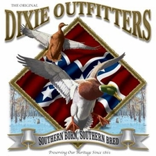 Wholesale Clothing Apparel - Custom Printed Duck Hunting Dixie Outfitters T Shirts - a12195e
