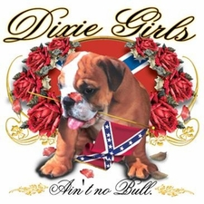 Wholesale Clothing Apparel - Custom Printed Bulldog Girls Southern Dixie Outfitters T Shirts - a12216e