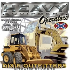 Wholesale Clothing Apparel - Custom Printed Men Heavy Equipment Trucks Dixie Outfitters T Shirts - a12241c