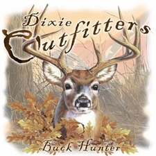 Wholesale Clothing Apparel - Custom Printed Buck Hunter Southern Dixie Outfitters T Shirts - a12244c