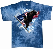 Eagle T Shirts Wholesale - Tie Dye