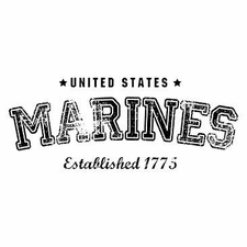 Wholesale Clothing Apparel Military T-Shirts Bulk Supplier - Faded Marines a12312a