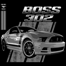 Wholesale Ford Classic Car T-Shirts - Custom Boss 302 T-Shirts - 19236E1-1