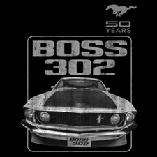 Wholesale Ford Classic Car T-Shirts - Custom Boss 302 T-Shirts - 19237E1-1