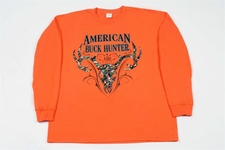 Wholesale long sleeve hunting t-shirts - FBT24LSP FRONT