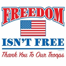 Wholesale T Shirts Hats, Military Tee Shirts, Freedom Isnt Free - a12879a