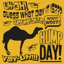 Funny Hillarious Sayings One Liners Bulk - Uh Oh Hump Day Heat Transfer 21452