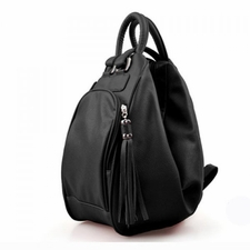 Handbags Wholesale Cheap Online - Stylish Womens PU Handbag Bag With Tassels and Solid Color Design 28.