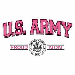 Funny Military Proud Army Mom Clothing Wholesale T-Shirts - A12271C