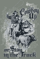 Wholesale - Cowboy T Shirts - HO-50