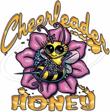 Wholesale Cheerleader Honey T Shirts - P-1980