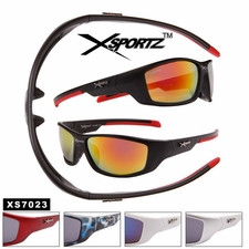 Mens Xsportz� Sunglasses Wholesale - Style # XS7023 (Assorted Colors)