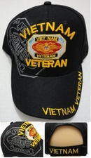 Wholesale Bulk Hats Military Fashion - VIETNAM VETERAN Hats Wholesale - HT720