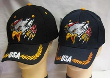 Wholesale Bulk Hats Military Fashion - Eagle Claw Flag Hats Wholesale - CAP678