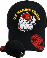 Wholesale Hats -Marine Bulldog Military, Hats, Caps, Men's, Wholesale Hats - MI-682