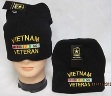 Wholesale Bulk Hats Military Fashion - Winter Discount Beanies Military - WIN607A Vietnam Veteran Beanie